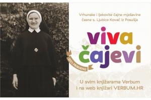 Vrhunske, ljekovite čajne mješavine časne s. Ljubice Kovač iz Posušja – dostupno u knjižarama Verbum i na web knjižari verbum.hr