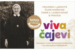 Od sada i u svim knjižarama Verbum - ljekovite čajne mješavine sestre Ljubice Kovač iz Posušja
