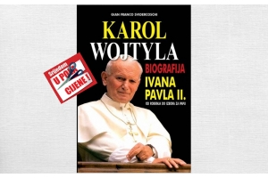 """""""Karol Wojtyla - biografija Ivana Pavla II., od rođenja do izbora za papu """" 20. listopada u pola cijene u Verbumu"""