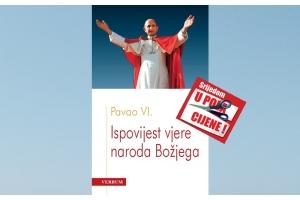 """""""Ispovijest vjere naroda Božjega"""" 05. svibnja u pola cijene u Verbumu"""