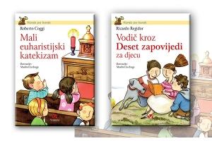 """Predstavljeni naslovi """"Vodič kroz Deset zapovijedi za djecu"""" i """"Mali euharistijski katekizam"""" u novom nizu izdanja za djecu"""