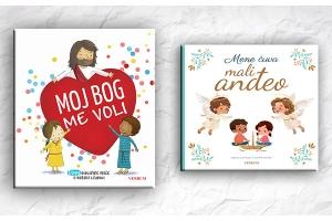 """Predstavljena nova izdanja za djecu """"Moj Bog me voli"""" i """"Mene čuva mali anđeo"""""""
