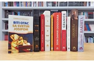 Nova knjiga 'Biti otac sa svetim Josipom' Fabricea Hadjadja na vrhu Verbumove top ljestvice