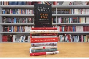 Knjiga 'Izvan reda' Jordana B. Petersona ponovno na vrhu Verbumove top ljestvice