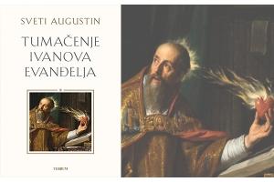 """Monumentalno djelo sv. Augustina """"Tumačenje Ivanova Evanđelja"""" stiglo u knjižare Verbum!"""