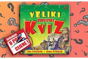 """""""Veliki biblijski kviz"""" 15. srpnja u pola cijene u Verbumu"""