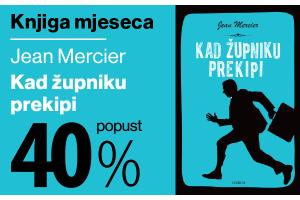 """Knjiga mjeseca """"Kad župniku prekipi"""" uz 40% popusta za članove kluba Verbum!"""