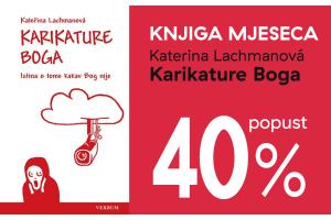 """Knjiga """"Karikature Boga"""" uz 40% popusta za članove kluba Verbum"""