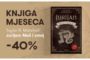 """Knjiga """"Jurijan: Mač i zmaj"""" Taylora R. Marshalla uz 40% popusta za članove kluba Verbum!"""
