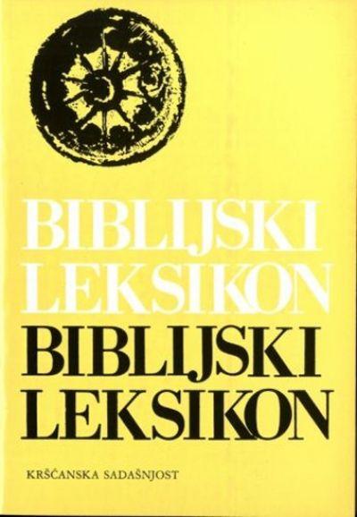 Biblijski leksikon