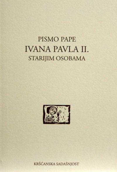 Pismo pape Ivana Pavla II. starijim osobama (D-123)