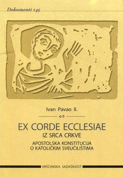 Ex corde Ecclesiae. Iz srca Crkve (D-146)