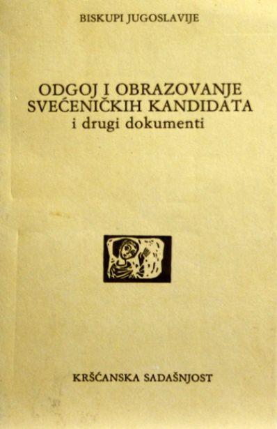Odgoj i obrazovanje svećeničkih kandidata i drugi dokumenti (D-79)
