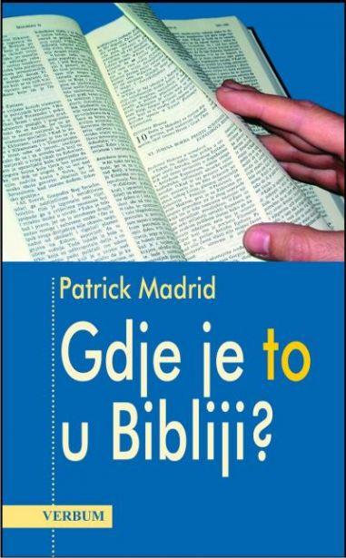 Gdje je to u Bibliji?