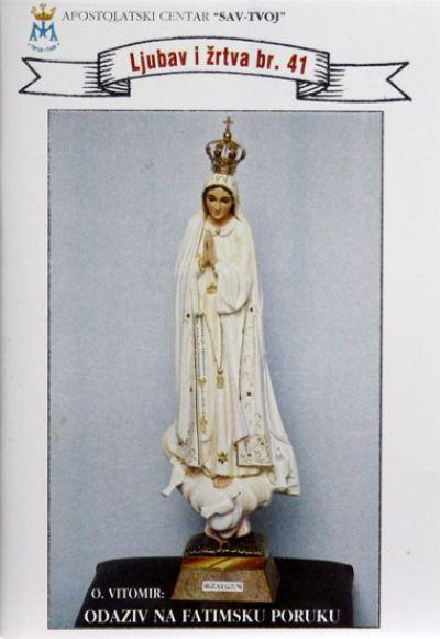 Odaziv na fatimsku poruku ili posveta prečistom srcu Marijinu