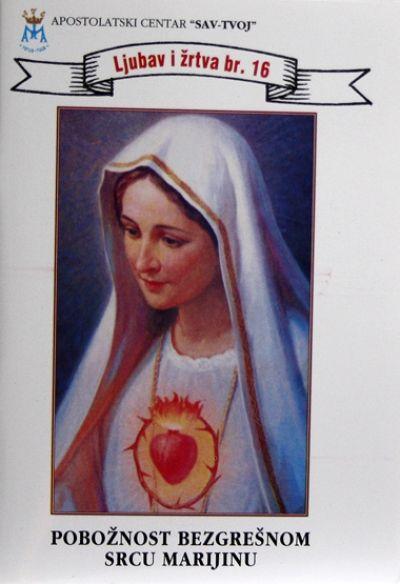 Pobožnost Bezgrešnom Srcu Marijinu