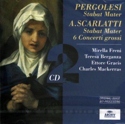 Giovanni Battista Pergolesi, Alessandro Scarlatti