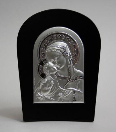 Gospa s djetetom - srebro