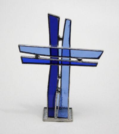 Križ - staklo u boji