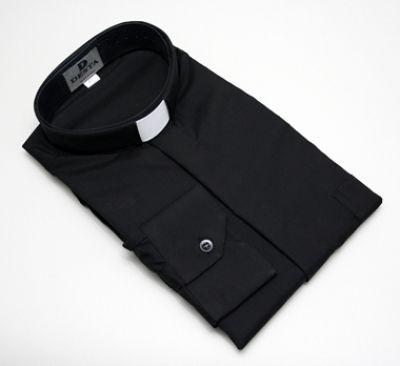 Svećenička košulja dugi rukav - pamuk, poliester