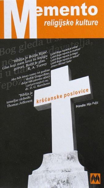 Memento religijske kulture - Kršćanske poslovice