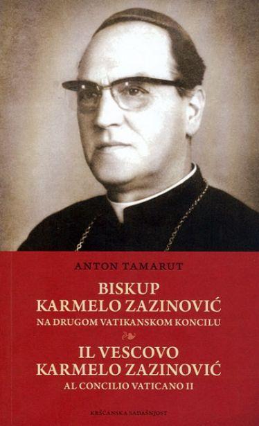 Biskup Karmelo Zazinović na Drugom vatikanskom koncilu