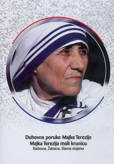 Duhovne poruke Majke Terezije i Majka Terezija moli krunicu