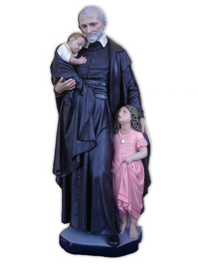 Sv. Vinko Paulski - kip