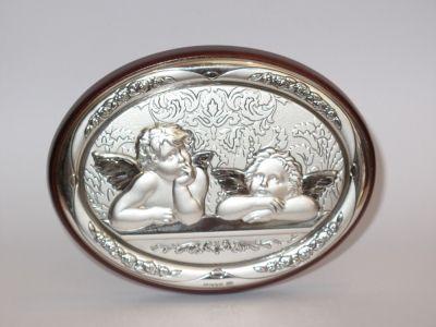 Anđeli - mali reljef od srebra