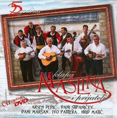 Klapa Maslina i prijatelji 25 godina - CD + DVD
