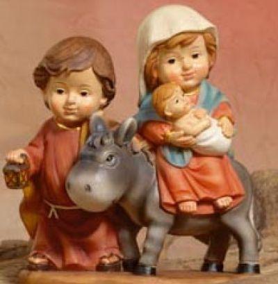 Božićne jaslice - Sveta obitelj - 11 cm