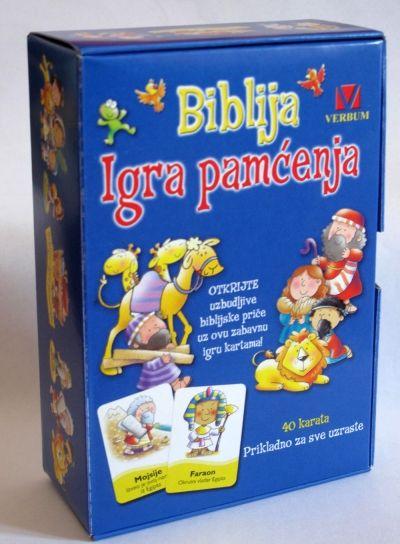 Biblija - Igra pamćenja