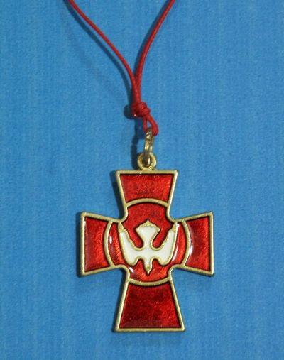 Križ metalni - Duh Sveti