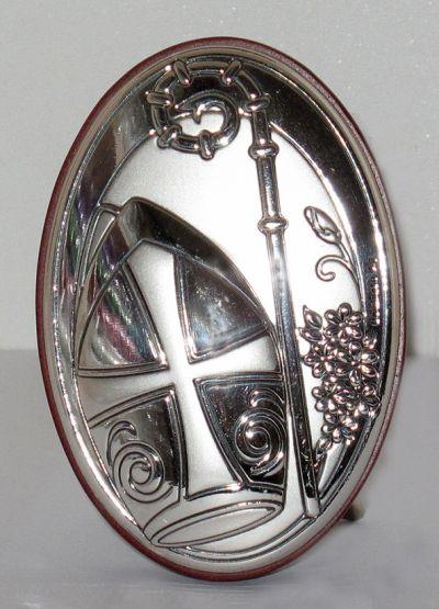 Krizma - slika srebro