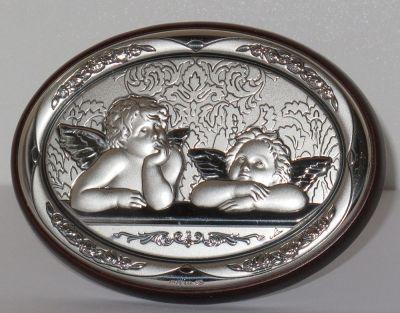 Anđeli - slika srebro