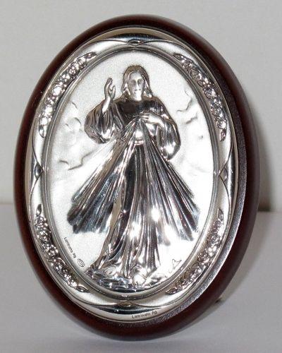 Milosrdni Isus - slika srebro