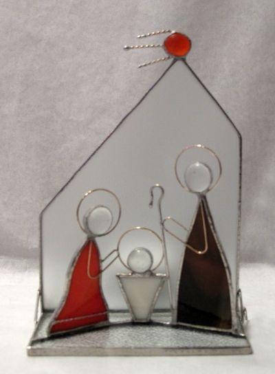 Božićne jaslice - Sveta obitelj