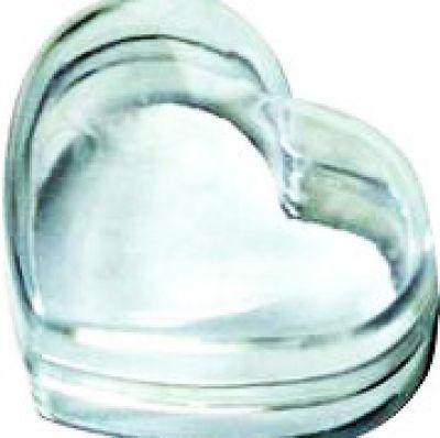 Kutija za krunicu - srce (4x5 cm)