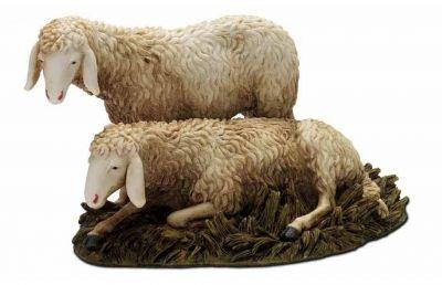 Božićne jaslice - Dvije ovce - 20 cm