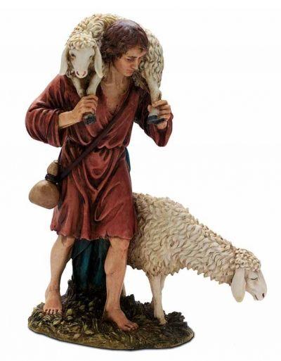 Božićne jaslice - Pastir s ovcama - 20 cm