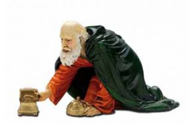 Božićne jaslice - Kralj - 13 cm