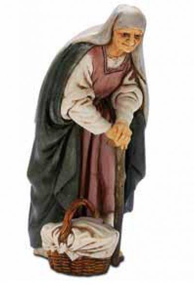 Božićne jaslice - Starica - 13 cm