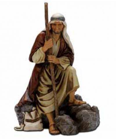 Božićne jaslice - Pastir čuvar- 13 cm
