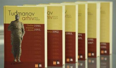 Tuđmanov arhiv - komplet 6 svezaka
