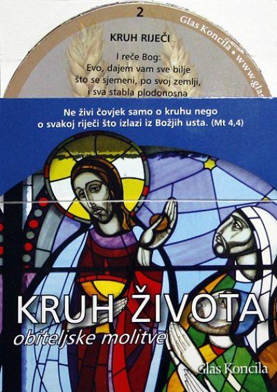 Kruh života - molitvene kartice