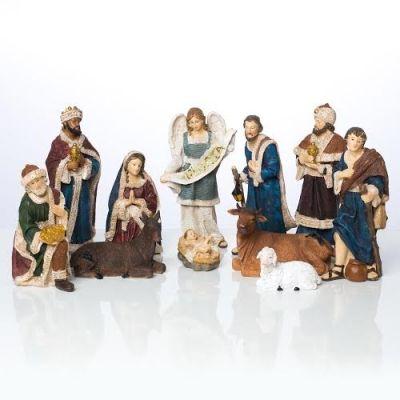 Božićne jaslice - komplet 11 figura - 20 cm