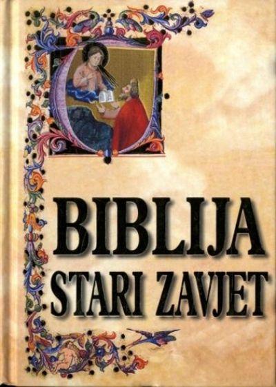Biblija Stari zavjet - 1