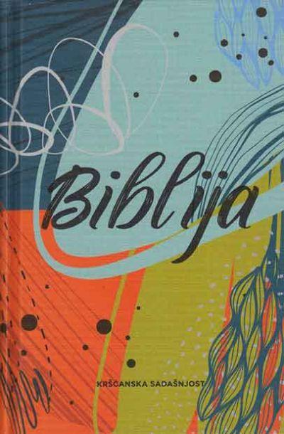 Biblija - Stari i Novi zavjet (platno, šareni uvez)