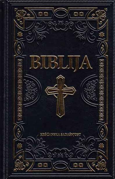 Biblija - Stari i Novi zavjet (svečani uvez, zlatno crni)