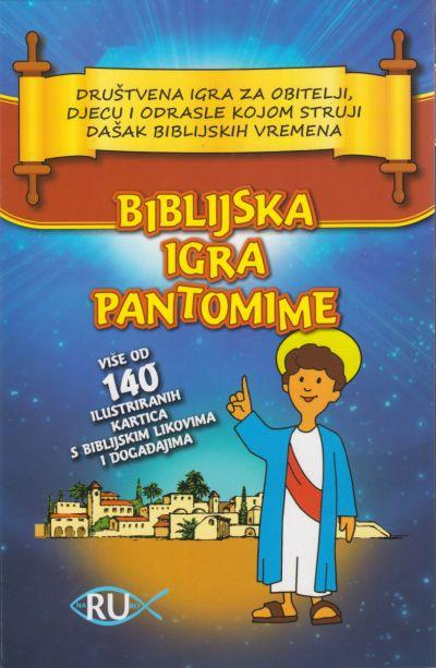 Biblijska igra pantomime